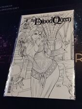 Blood Queen #1 Midtown Comics Exclusive, Cover E Black & White, Nm (Vca050