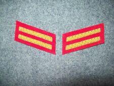 Civil War reenactors Collar Insignia 1st LT - Aetillery