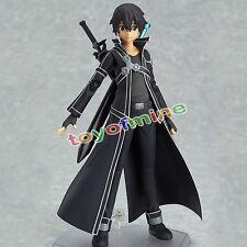13cm Anime SAO Sword Art Online Kirigaya Kazuto Kirito Figure Figurine  #174