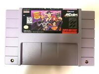 Justice League Task Force SUPER NINTENDO SNES Game Tested + Working & Authentic!
