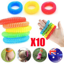 10PCS Anti toxic Mosquito Repeller Insect Repellent Wrist Bands Bracelet Outdoor