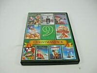 CHRISTMAS MOVIES DVD 9 MOVIES IN 1 (GENTLY PREOWNED)