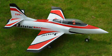 Top 940mm Jet Star EDF RC Airplane EPO Foam Model KIT Red W/O Electronics
