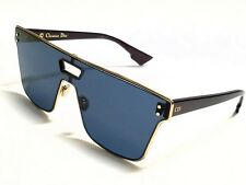 New Authentic Christian Dior DIORIZON1 NOA/A9 Gold Burgundy/Blue Sunglasses