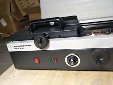 Heavy Duty Manual Hot Thermal Glue Binder Wireless Metal Binding Machine