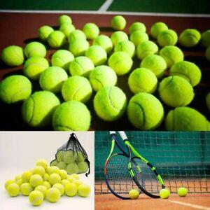 24 X Premium Tennis Balls Sport Cricket Play Pet Dog Toy Outdoor Games Ball UK