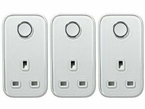 HIVE Active Smart Plug SILVER 3 Pack