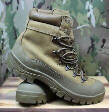 NWOT GI Army Issue Bates Mountain Combat Boots E03412C Leather, Size 9XW