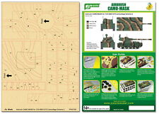J's Work Airbrush Camo-Mask for 1/35 AMX13/75 Camouflage Scheme 2