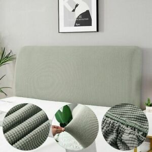 Bed Headboard Protection Cover Bedside Elastic Thicken Protection Cushion Cover