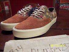 NEW Vans Era Decon Floral mix suede size 12 vault