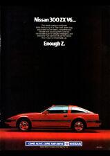 "1984 NISSAN 300ZX V6 Z31 A3 CANVAS PRINT POSTER 16.5""x11.7"""