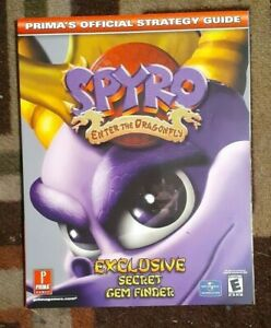 Spyro Enter The Dragonfly Prima Official Strategy Game Guide Excellent Shape