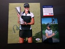 Natalie Gulbis Hot! signed autographed LPGA golf star 8x10 photo PSA/DNA coa