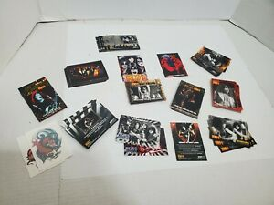 Kiss Rock Band Collectible Trading Cards and Tattoo Cards Small Lot