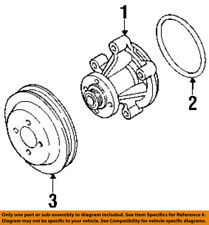 FORD OEM Water Pump-Pulley F3LY8509A
