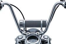 Kuryakyn MTX RoadThunder Bluetooth Motorcycle Sound Bar Handlebar Mounted Silver