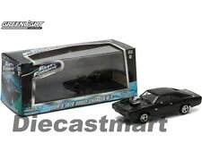 THE FAST AND THE FURIOUS 5 (2011) 1970 DODGE CHARGER BLACK 1:43 GREENLIGHT 86228