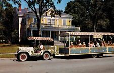 Baraboo,Wisconsin,Tourist Tram Leaving for Circus World Museum,c.1950s