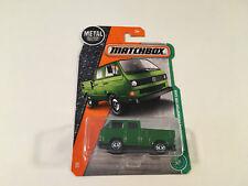 Matchbox Diecast Green Volkswagen T3 Transporter Pickup Cab 1:64 Scale