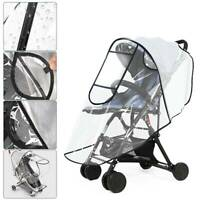Universal Buggy Rain Cover Baby Pushchair Stroller Pram Buggy Clear Raincover