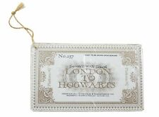 Wizarding World of Harry Potter Ornament Hogwarts Express Ticket Platform 9 3/4