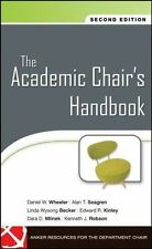 Jossey-Bass Resources for Department Chairs: The Academic Chair's Handbook...