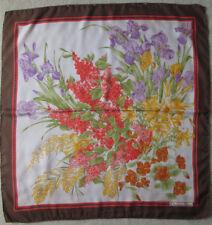 -Superbe foulard CHRISTIAN DIOR  soie   TBEG vintage scarf 87 x 90 cm