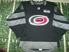 Addidas Carolina Hurricanes Hockey Jersey with FIGHT STRAP and SEWN TWILL NUMBER