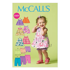 McCall's 6912 Easy Sewing Pattern to MAKE Toddler Reversible Dress & Bloomers