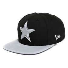 DALLAS COWBOYS NFL NEW ERA 9FIFTY BLACK GLEAMER SNAPBACK HAT CAP $30