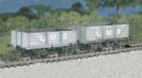 Ratio 576 OO Gauge LMS Traffic Coal/4 Plank Wagon Kit