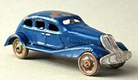 Vintage Pre War Japanese Tin Wind Up Toy Car