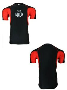 Ento Mens Compression Armour Base Layer Top Half Sleeve Thermal Gym Sports Shirt