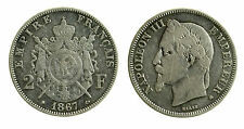 pcc1860_2) Francia 2 Franchi 1867 BB