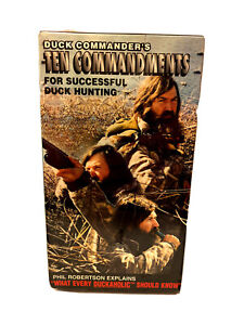 """Duck Commander """"10 Commandments for Successful Duck Hunting """" VHS~New/Sealed"""