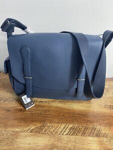 Dunhill Messenger Bag  100% Leather  Boston GL BNWT RRP £990