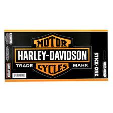 Motorrad Harley Davidson HD Willie Vintage Logo Emblem Aufkleber Decal Groß NEU