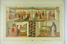 RCF241 2 Italie XV florence costumes noces seigneur Savonarole Cosme Damien