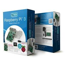 Raspberry Pi 3 Model B Starter Kit - Includes Pi 3, Case, Power Supply, OS Disk