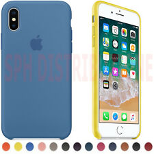 COVER CASE CUSTODIA IN PELLE RIGIDA SOFT TOUCH PER TUTTI I MODELLI APPLE IPHONE