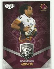 Single-Insert Brisbane Broncos 2016 Season NRL & Rugby League Trading Cards