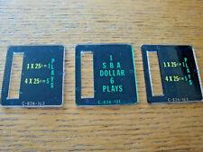 3 Bally Pinball Coin Entry Plastics, Includes SBA Plastic, New, $3 Shipping!