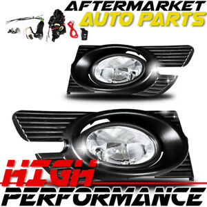 For 1998-2002 Honda Accord Fog Light(Wiring Kit Included) Clear