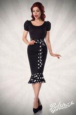 Damenkleider im 50er-Jahre-Stil mit Rundhals-Ausschnitt in Größe XL