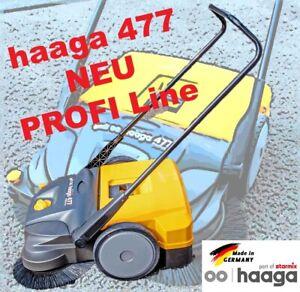 Kehrmaschine haaga 477 PROFI-LINE Kehrbreite 77cm Handkehrmaschine Kehrbesen OVP