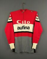 Clio Aufina jersey vintage retro Cycling shirt long sleeve ig93