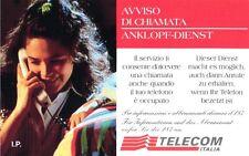 *G AA 59 C&C 2643 SCHEDA TELEFONICA NUOVA MAGNETIZZATA AVVISO DI CHIAMATA