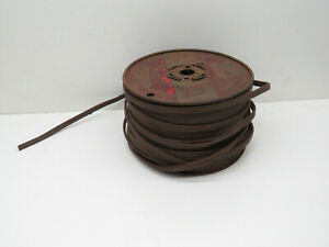 (250ft) Carol SPT-1 Brown 18/3 Lamp Cord Copper Wire Roll #18 AWG Gauge