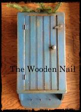 Primitive Grungy Old Blue Soap Crock Cupboard Pattern/Plan WN165